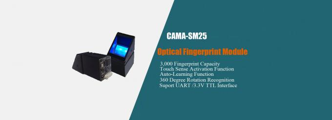 CAMA-SM25 Optical Fingerprint Reader with UART 3.3V TTL Interface