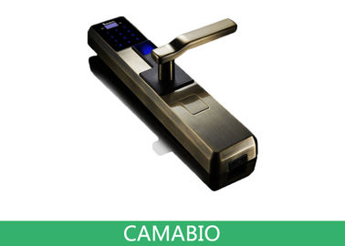 China CAMA-C010  Fingerprint Door Lock For Apartment|Residential Luxury Doors supplier