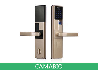 China CAMA-C010  Keyless Biometric Fingerprint Door Lock With RIFD Card|Password|Mechanical Key supplier
